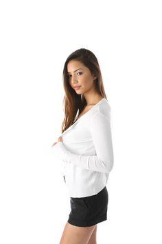 Salt Tree Women's Thick Button Front Round Neck Cardigan, US Seller