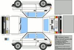 fiat 126 - papercraft | HomoFaciens-Downloads