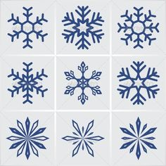 Snowflakes - Seasons Nature