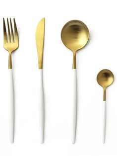 TUSK CUTLERY SET | WHITE AND GOLD | 16 PIECE – The Chairman Homeware and Furniture Co. South African Shop, Cutlery Set, Matte Gold, Shops, It Is Finished, Random, Tableware, Furniture, Tents