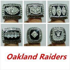 2cc5ec07d6a Oakland Raiders Super Bowl Championship Rings (6 rings)
