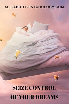 Seize Control of Your Dreams: Four Myths And One Surprising Fact About Sleep. Fascinating article by psychologist and award-winning writer, Dr Christian Jarrett. #dreams #dreaming #DreamPsychology #LucidDreaming #psychology