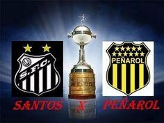 Santos 2 x 1 Penarol - 2ª Final Libertadores 2011 (Santos Campeão) - Jog...