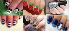 Coolest nail art designs for summer 2015
