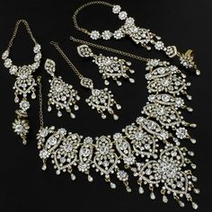 beautiful indian wedding jewelry set. American style