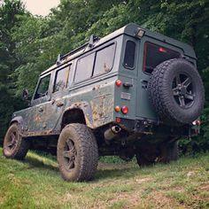 Land Rover Defender 110 Td4 Sw Se Extreme adventure sports off road.