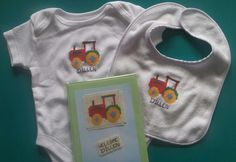 Beautiful hand stitched set ideal for new baby x