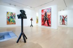 Bernier/Eliades Gallery | Jonathan Meese | 2011 | Installation view | Photo by Boris Kirpotin