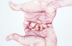 Juxtapoz Magazine - Martha Persson's Watercolor Hands