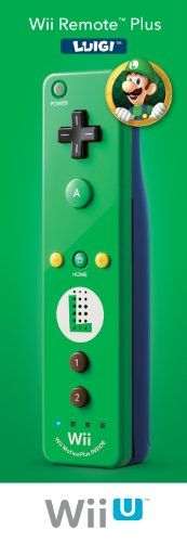 Nintendo Remote Plus, Luigi - Nintendo Wii, 2015 Amazon Top Rated Controllers #VideoGames