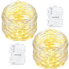 60 LED Solar Fairy  Drop string lights 10 meter 8 modes Waterproof Garden Home