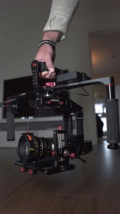 The Birdycam II with a BMPCC running a Veydra 16mm Mini Prime