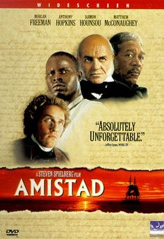 Amistad directed by Steven Spielberg #film #drama