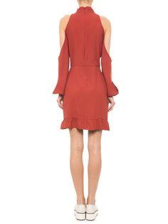 Vestido Mariana - Carina Duek - Marrom  - Shop2gether