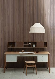 Using your home corner won't only save your house space but also much simpler to earn a minimalist interior design for your home office. For studio dwellers, it may also double as a kitchen t… Attic Renovation, Attic Remodel, Deco Design, Wood Design, Design Design, New Furniture, Furniture Design, Office Furniture, Interior Architecture