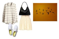 """""""Untitled #13549"""" by jayda365 ❤ liked on Polyvore featuring H&M, River Island, Keds and Michael Kors"""