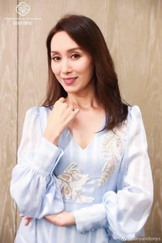 Chinese Actress, Ruffle Blouse, Actresses, Long Sleeve, Sleeves, Tops, Women, Fashion, Female Actresses