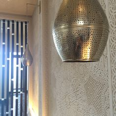 Moroccan design decor in our hotel lobby #Design #FSCasablanca #Moroccanlantern
