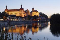 Schloss Neuburg an der Donau / Architekturfoto von Mark Wohlrab