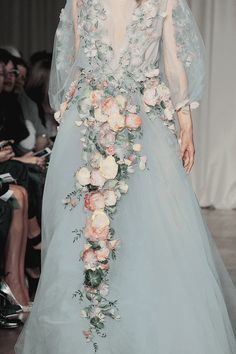 myfavoritefashionthings: Marchesa Spring 2015