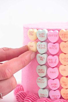 Easy Valentine's Day Cake   Sprinkles For Breakfast