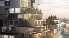 Weston Williamson has revealed a housing concept that could help solve a lack of affordable housing in Palestine.