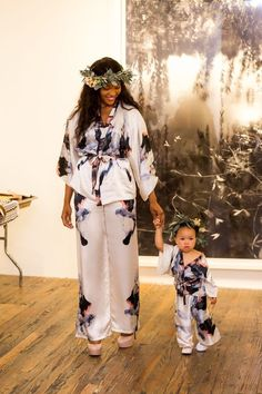 Mother Daughter Matching Outfits from Ira&Sonya! Big Dreams for Smallest Models!
