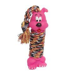 Brinquedo Cachorro com Corda Rosa. #petmeupet #cachorro #brinquedo