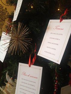un Tableau de Mariage in pieno clima natalizio!