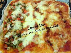"""Con la birra???? Si con la birra, ecco un lievitato realizzato da Laura Lau per delle ottime pizze, scopriamo come sul suo blog PIZZA- IMPASTO CON LA BIRRA by Laura Lau dal blog """"Laura Lau in cucina con le amiche""""  Questa ricetta appartiene al programma di affiliazione ai quali partecipano SOLO i blog approvati e certificati. http://www.lapulceeiltopo.it/forum/ricette-piatti-unici-cene-fredde/1843-pizza-impasto-con-la-birra#2545"""