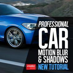 Motion Blur, Automotive Photography, Photoshop Tutorial, Watch V, Shadows, Bmw, Tutorials, Digital, Youtube