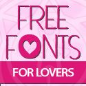 13 New Romantic Free Fonts