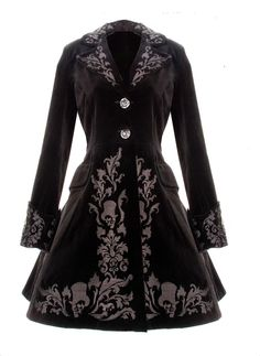 VICTORIAN BLACK VELVET COAT GOTHIC SPIN DOCTOR VINTAGE GOTHIC STEAMPUNK 2014 NEW | Clothes, Shoes & Accessories, Women's Clothing, Coats & Jackets | eBay!