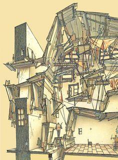 Lebbeus Woods, the Experimental Architect, Dies