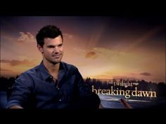 Taylor Lautner - The Twilight Sage: Breaking Dawn Part 2 | Interview