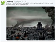 Muslims around the world celebrate the attack in Paris!!!