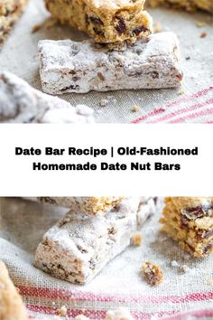 Dating back more than half a century ago, this Date Bar recipe was a Christmastime treat on the Ohio farm where my mother grew up. They're a special, old-fashioned cookie for the holidays – but honestly, we love them so much that we make them all year 'round. They're super-easy and freezable, too, so you can always keep a stash on hand! Healthy Christmas Recipes, Healthy Recipes, Date Nut Bars, Kitchen Recipes, Super Easy, Ohio, Deserts, Kitchens, Cookie