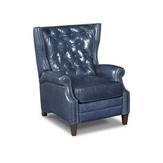 navy blue leather recliner chair Google Search