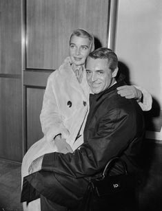 Cary Grant and 3rd wife Betsy Drake