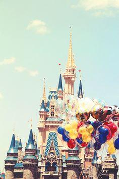 ♡ Castle, Disney, Disney World, Disney Land, Walt Disney ♡