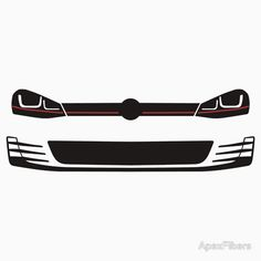 2015 Volkswagen Golf GTI Headlights and grill