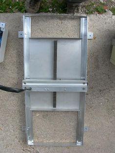 Tuto arduino technologie poulailler porte automatique - Porte automatique poulailler solaire ...