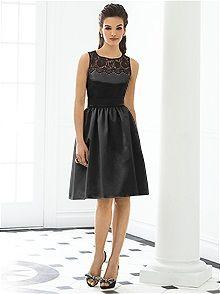 After Six Bridesmaid Style 6644 #black #bridesmaid #dress