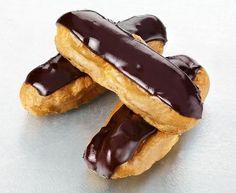 Éclair au chocolat, przypomina mi moje poczatki jako au pair z Jack'iem ^^