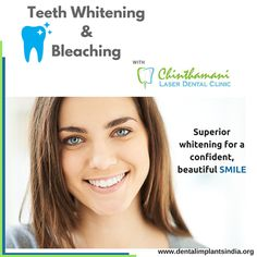 Teeth Whitening in Chennai: Worried about Decoloured Teeth?Get Teeth Whitening done from Chinthamani Laser Dental Clinic which provides noticeable result immediately after the treatment. Visit http://dentalimplantsindia.org for further information.