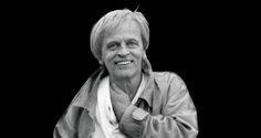 Klaus Kinski, lachend (rares Foto)