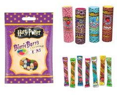 Les bonbons Jelly Belly Bertie Bott's Beans et les Millions #sweets #bonbons #harrypotter