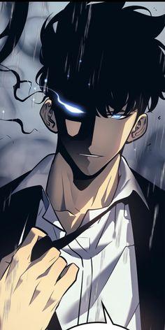 Sung jin woo [My redraw] Manga Boy, Anime Manga, Anime Art, Cool Anime Guys, Cute Anime Boy, Anime Boys, Character Art, Character Design, Anime Devil