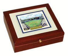 BASEBALL~Baseball Stadium Small Desk Box