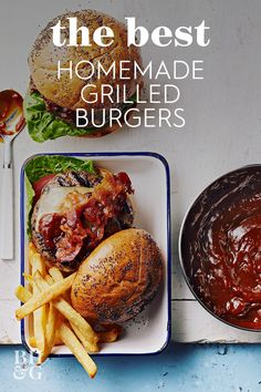 We'll teach you how to grill the best hamburgers ever. We share our Test Kitchen tips for the juiciest burgers and offer a few of our best hamburger meat recipes because not all ground beef is the same! Fire up the grill this summer and try these burger tips. #grillingtips #grillingideas #perfectburger #howtogrill #bhg